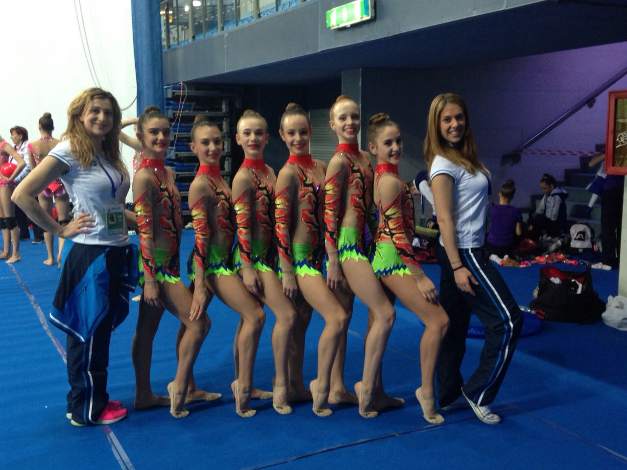 World Cup 2015 Pesaro la squadra junior