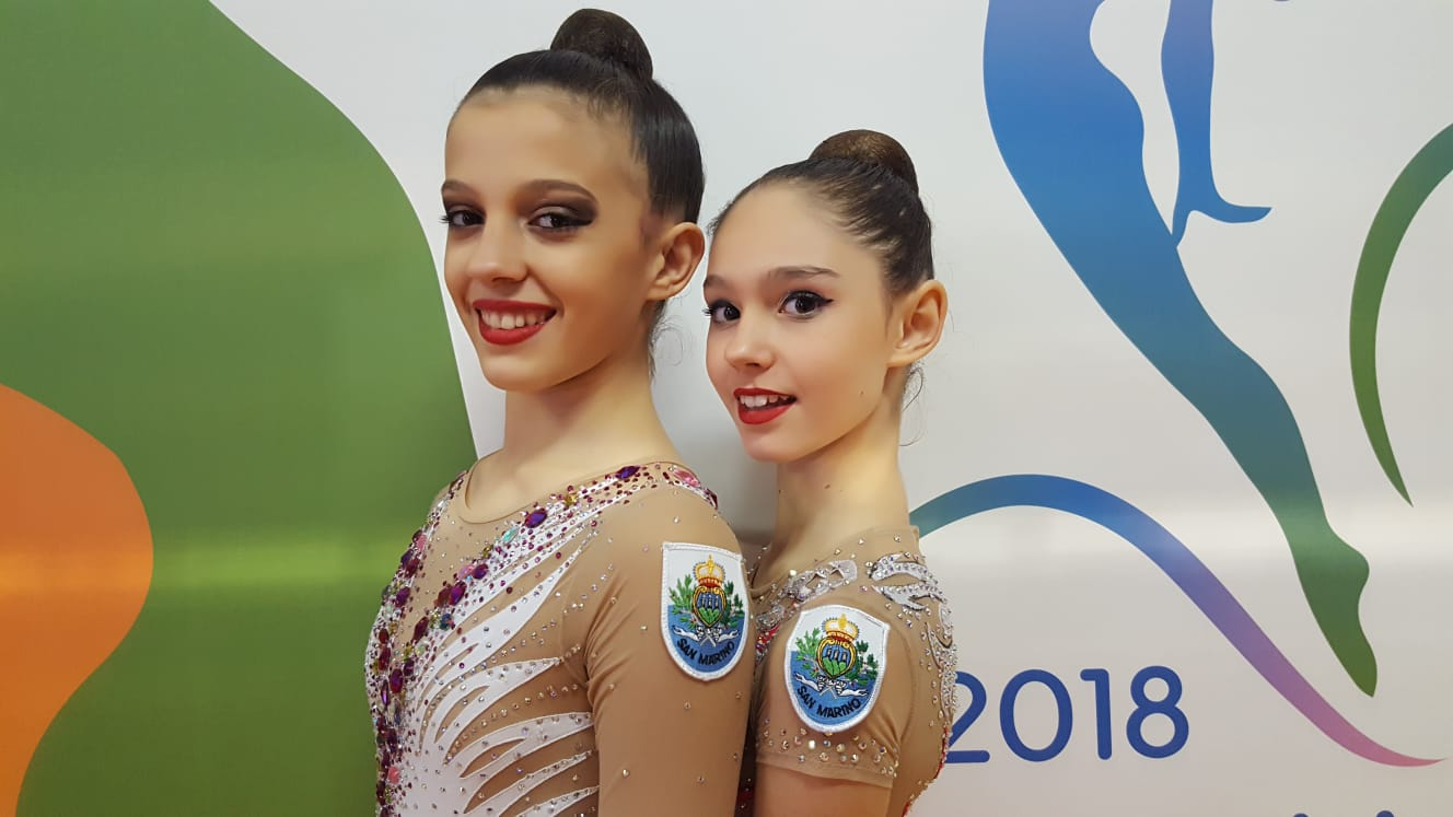 Guadalajara-Campionati europei di ginnastica ritmica 2018 - Casali Giulia - Elettra Massini