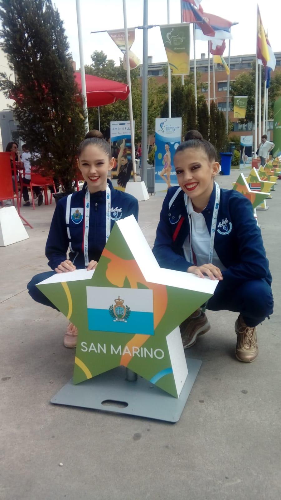 Guadalajara-Campionati europei di ginnastica ritmica 2018- Casali Giulia - Elettra Massini